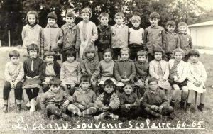 Grupo escolar 64-65. Lacanau-France