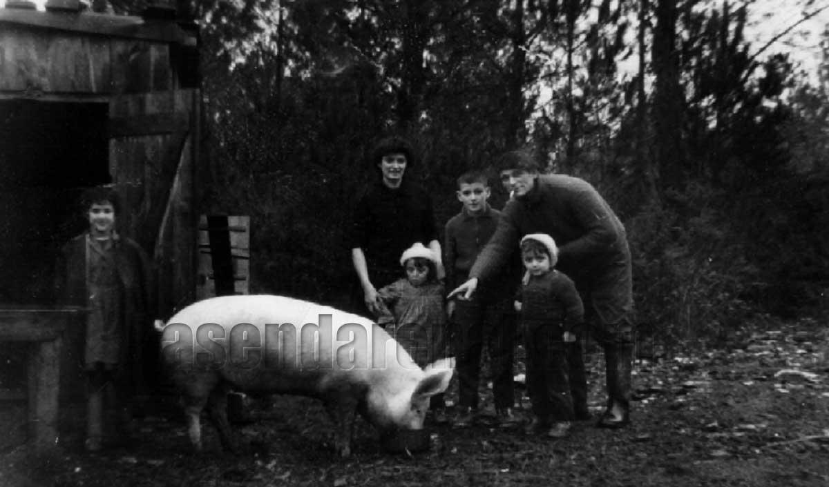 Familia Vadillo Arroyo en Francia